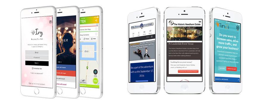 Mobile Web Design Services