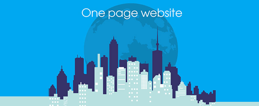 One Page website | Cfactory